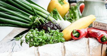 verduras na sacola